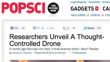 Scientists Build a Thought-Controlled Drone