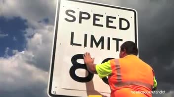 Utah Announces Speed Limit Increase to 80MPH in Some Areas