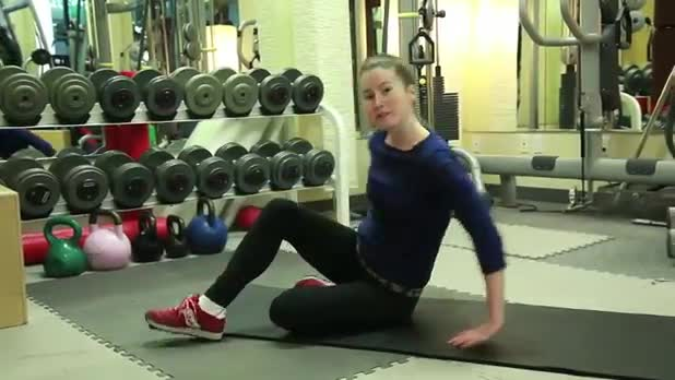 How to Do Pilates Leg Circles - Women's Fitness