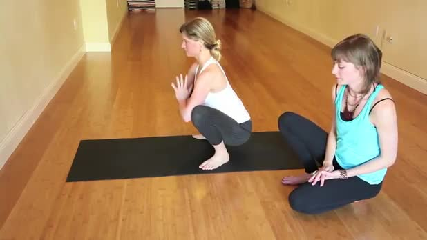 How to Do Yoga Crow Pose - Women's Fitness