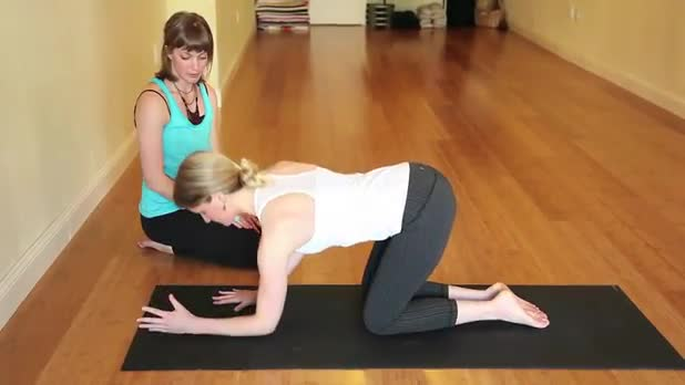 How to Do Yoga Dolphin Pose - Women's Fitness