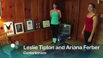 Basic Contortion Moves: Back Bend Ending in Pretzel