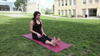 Yoga Seated Forward Bend - Women's Fitness