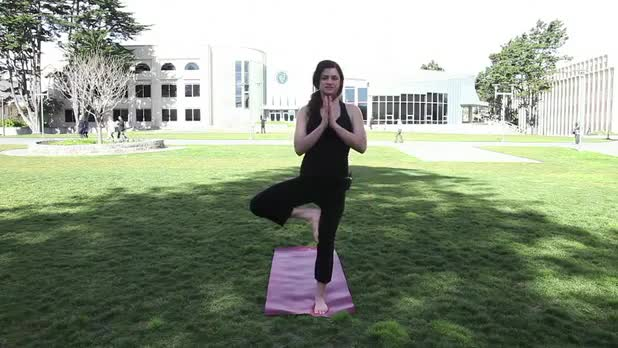 Yoga Tree Pose - Women's Fitness