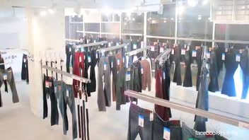 Clothing Store Utilizes Technology Instead of Salespeople