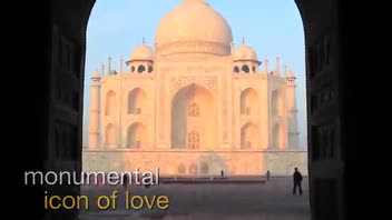 Taj Mahal at Sunset - Great Attractions (Agra, India)