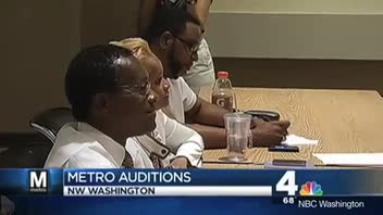 Performers Audition for Local Train Gigs in DC